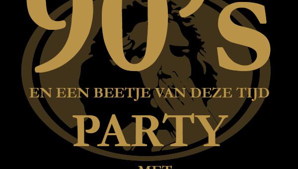 Zaterdag 4 Maart hebben we een 90's party!