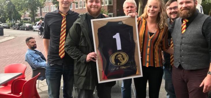 Trotse sponsor van Rugbyclub Groningen