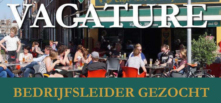 Café de Klikspaan zoekt bedrijfsleider